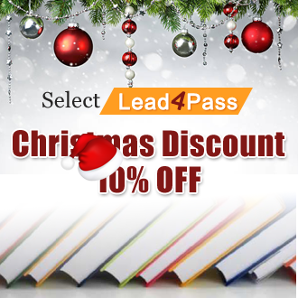 lead4pass Christmas discount