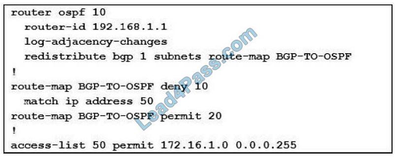 cisco 300-410 exam questions q11